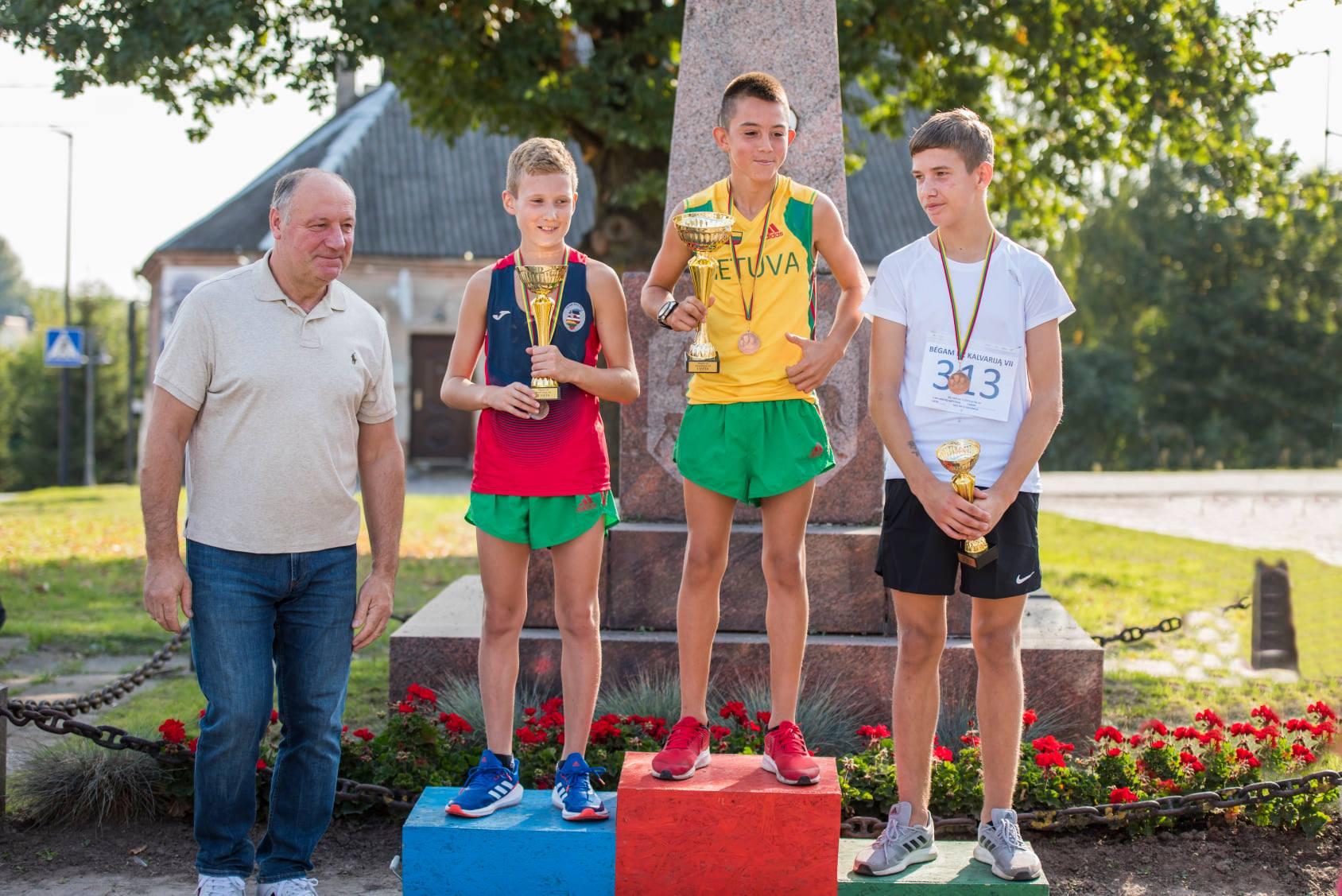 Nojus Minevičius - 1 vieta, Airidas Simanavičius - 2 vieta, Klaidas Vyšniauskas - 3 vieta